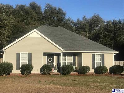 Hartsville Single Family Home For Sale: 1818 Carriage Oak Court