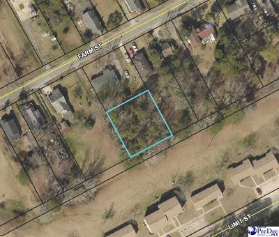 Effingham, Darlington, Darlinton, Florence, Flrorence, Marion, Pamplico, Timmonsville Residential Lots & Land For Sale: Farm Street
