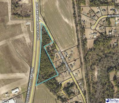 Effingham, Darlington, Darlinton, Florence, Flrorence, Marion, Pamplico, Timmonsville Residential Lots & Land For Sale: 4.68 Acres Old Millpond Rd & Hwy 52 Bypass