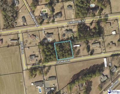 Effingham, Darlington, Darlinton, Florence, Flrorence, Marion, Pamplico, Timmonsville Residential Lots & Land For Sale: Gloria Drive