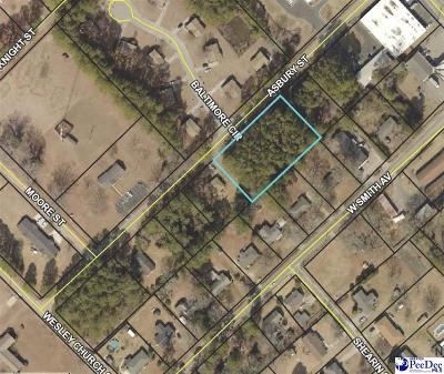 Effingham, Darlington, Darlinton, Florence, Flrorence, Marion, Pamplico, Timmonsville Residential Lots & Land For Sale: 3 Lots Asbury Street