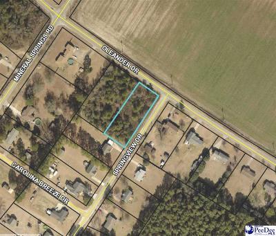Effingham, Darlington, Darlinton, Florence, Flrorence, Marion, Pamplico, Timmonsville Residential Lots & Land For Sale: Lot 4a Oleander Drive