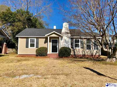 Florence  Single Family Home For Sale: 1205 Gregg