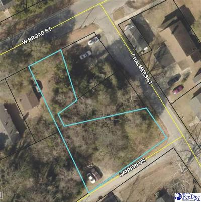 Effingham, Darlington, Darlinton, Florence, Flrorence, Marion, Pamplico, Timmonsville Residential Lots & Land For Sale: Chalmers Street