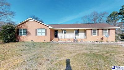 Hartsville Single Family Home For Sale: 1822 Kelleytown Rd.