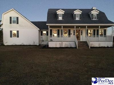 Timmonsville Single Family Home For Sale: 4130 Gaymon Road