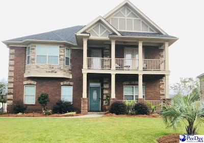 Florence Single Family Home For Sale: 1625 Lake Wateree Drive
