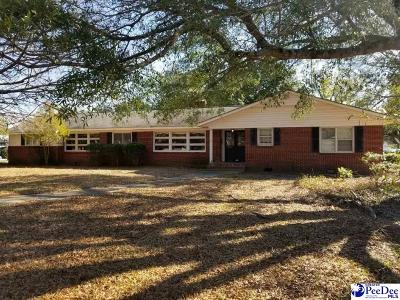 Bennettsville Single Family Home For Sale: 602 Lakeshore Drive