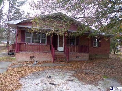 Lake City SC Single Family Home Uc/Show For Back Up: $15,000