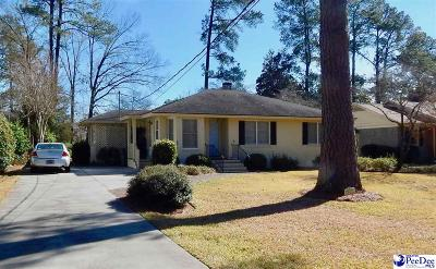 Florence Single Family Home For Sale: 1014 Wentworth Dr