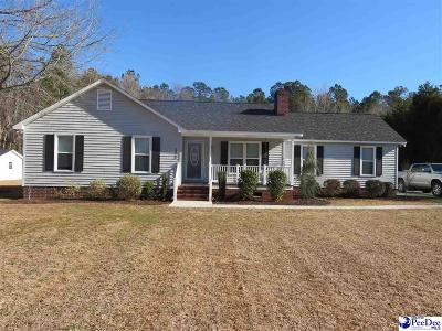 Florence Single Family Home Uc/Show For Back Up: 2320 Red Doe Road