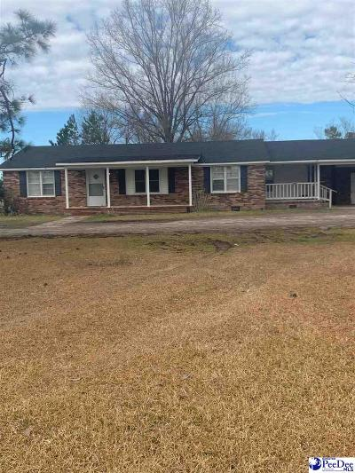 Marion SC Single Family Home For Sale: $75,000