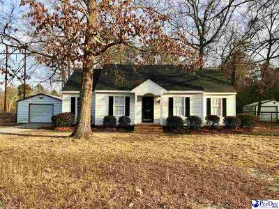 Hartsville Single Family Home Uc/Show For Back Up: 1703 Willis Drive
