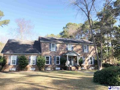 Florence Single Family Home For Sale: 627 Lancelot Drive