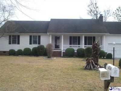 Florence SC Single Family Home For Sale: $182,900