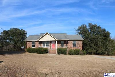 Bennettsville, Blenheim, Cilo, Clio, Mccoll, Tatum, Wallace Single Family Home Uc/Show For Back Up: 3055 Powe Rd.