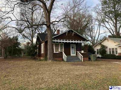 Bennettsville Single Family Home Uc/Show For Back Up: 901 Breeden Heights