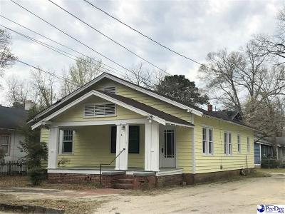 Bennettsville Single Family Home Uc/Show For Back Up: 120 S Everett Street