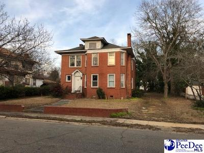 Bennettsville Single Family Home For Sale: 113 Townsend Street