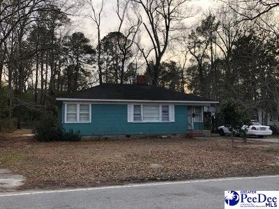 Bennettsville Single Family Home For Sale: 313 Woodland Drive