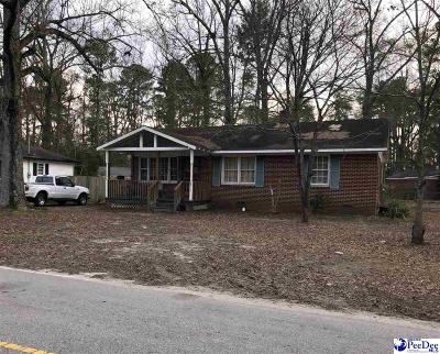 Bennettsville SC Single Family Home For Sale: $37,000