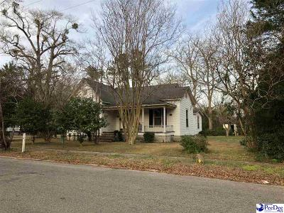 Bennettsville Single Family Home For Sale: 121 S Everett Street