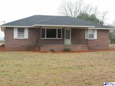 Timmonsville Single Family Home Uc/Show For Back Up: 437 S Sansbury Road