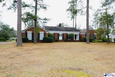 Florence SC Single Family Home For Sale: $225,000