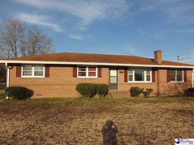 Single Family Home For Sale: 412 E Bobo Newsome Highway