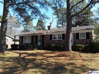 Florence Single Family Home For Sale: 1508 N Irby Street