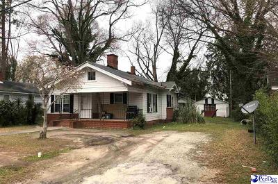 Bennettsville SC Single Family Home For Sale: $35,000