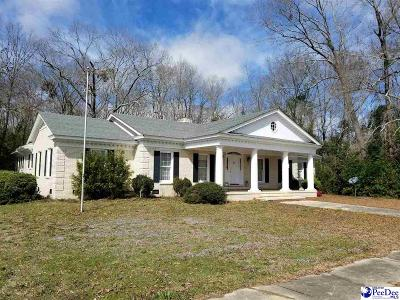 Bennettsville, Blenheim, Cilo, Clio, Mccoll, Tatum, Wallace Single Family Home For Sale: 119 Springdale Drive