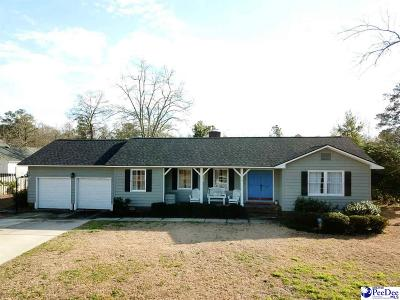 Florence SC Single Family Home New: $169,000