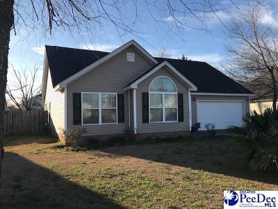 Florence SC Single Family Home For Sale: $152,000