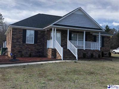 Hartsville Single Family Home Uc/Show For Back Up: 2544 New Market Road