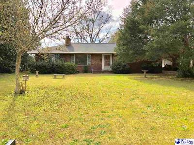 Hartsville Single Family Home Uc/Show For Back Up: 806 S Eighth Street