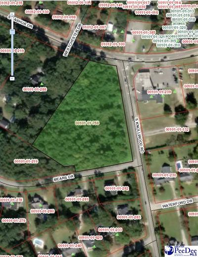 Florence, Flrorence, Marion, Pamplico Commercial Lots & Land For Sale: Cashua Drive & Knollwood Road