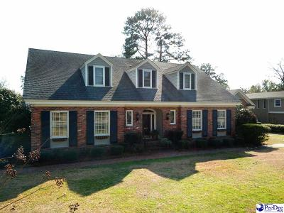 Florence Single Family Home Uc/Show For Back Up: 500 Cherokee Road