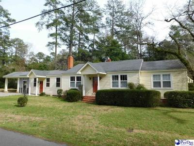 Florence  Single Family Home Uc/Show For Back Up: 904 Mimosa Drive