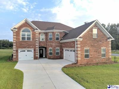 Florence Single Family Home For Sale: 3512 Ross Morgan Dr.