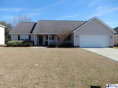 Florence  Single Family Home Uc/Show For Back Up: 3636 Trotwood Drive