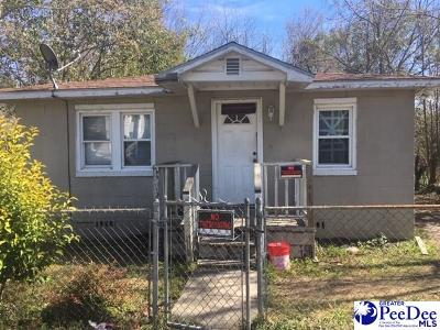 Florence Single Family Home For Sale: 704 Commander Street