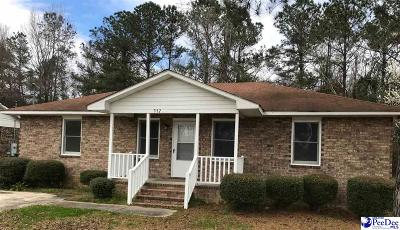 Florence Single Family Home Uc/Show For Back Up: 337 Wilson Road