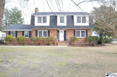 Bennettsville Single Family Home Uc/Show For Back Up: 720 Crestview Drive