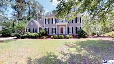 Hartsville Single Family Home Uc/Show For Back Up: 1421 Winyah Way