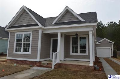 Hartsville Single Family Home Uc/Show For Back Up: 740 Veranda Way