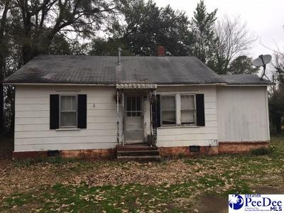Hartsville Single Family Home Uc/Show For Back Up: 922 Hannah Avenue
