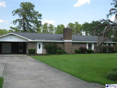 Marion SC Single Family Home For Sale: $192,500