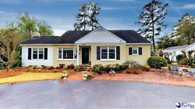 Florence Single Family Home For Sale: 1720 Cherokee Road