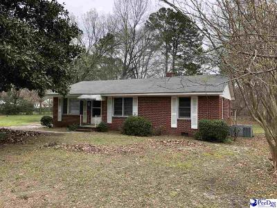 Bennettsville Single Family Home Uc/Show For Back Up: 810 Cheraw Street